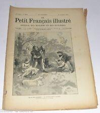 LE PETIT FRANCAIS ILLUSTRE du 21 novembre 1896 : Reconstitution du vieux Paris