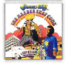 JIMMY CLIFF THE HARDER THEY COME 1973 LP COVER FRIDGE MAGNET IMAN NEVERA