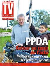 """TV MAGAZINE N°21317 15 FEVRIER 2013  PPDA/ """"NOS CHERS VOISINS"""""""