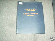 Yale  Lift Truck Factory Brochure 2-8K lbs
