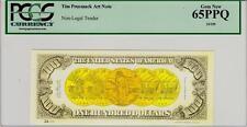 TIM PRUSMACK MONEY ART $100 GOLD COINS PCGS GEM NEW 65PPQ SPECTACULAR!!!