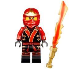 C119 Lego Ninjago Kai Ninja Minifigure & Legendary Blade of Fire Sword 70500 NEW