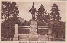# ALESSANDRIA: MONUMENTO A UMBERTO I - 1935