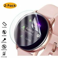 For Samsung Galaxy Watch Active Tempered Glass Screen Protector Guard Film Phone