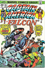 Captain America Comic Book #181 New Capt America 2nd NOMAD Marvel 1975 NEAR MINT