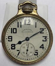 1951 Hamilton 992 B 16 Size 21 Jewel Gold Filled Pocket Watch