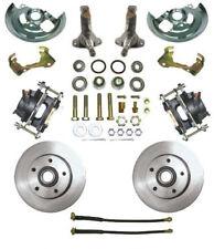 "62-67 Chevy II Nova MBM Front 11"" Disc Brake Conversion Kit w/ Stock Spindles"
