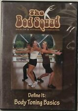 Gina McGuire the bod squad define it body toning basics abs workout exercise DVD