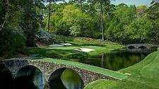 1 2 3 4 MASTERS Augusta 2020 Ticket MONDAY Badge 11/9 MONDAY Full Day