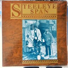 STEELEYE SPAN LP TEN MAN MOP 1984 USA EX/VG++
