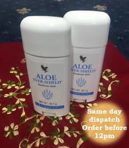 2 X Forever Living Aloe Vera Ever Shield Deodorant Stick New Quality Product