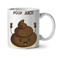 Poop Juice NEW White Tea Coffee Mug 11 oz | Wellcoda