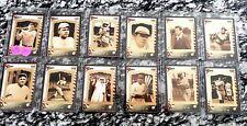 Guyana - 1995 MNH set of 12 Babe Ruth baseball card stamps