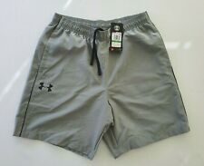 UNDER ARMOUR Woven Wordmark Shorts Grey Size L RRP £20