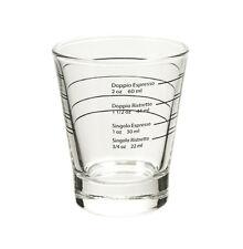 Professional Shot Glass for Espresso and Ristretto Shots Coffee Machine Glasses
