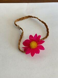 "American Girl Doll 18"" Julie Beforever Meet Accessories Flower Headband ONLY"