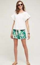 NEW Anthropologie Kadu Pleated Skort Shorts Size 8