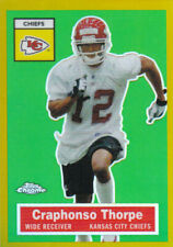 2005 Topps Chrome Football Part 3 Insert and Parallel Cards