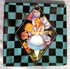 Disney Alice in Wonderland 6 inch Porcelain Dessert Plate