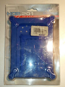 Kingwin HDP-202 Silicon 2.5 & 3.5 Hard Drive Case Protector Kit BLUE