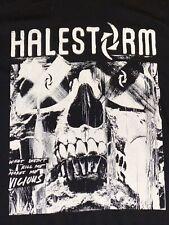 "Halestorm Rock Band Logo Mens Black T-Shirt Size Large-""What Doesn't Kill Me….."