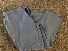 "A BRAND NEW BLUE DOGTOOTH CHEFS TROUSER SIZE XXL, 46""-48"" APPROX"