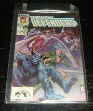 The New Defenders comic book #125, Marvel 1983, Beast, Angel, Ice-Man Rare