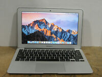 "Apple MacBook Air A1370 11.6"" 1.6GHz i5-2467M 4GB RAM 128GB SSD OS 10.12.3 2011"
