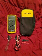 Fluke 87 V Digital Industrial Multimeter New Fluke Soft Case And Extra Leads