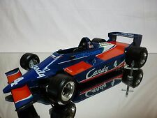 BBURAGO 2105 TYRRELL CANDY No 4 - RACE CAR F1 BLUE 1:14 - GOOD CONDITION