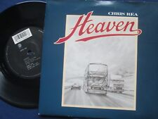 Chris Rea ‎– Heaven Label: EastWest Records  YZ 566 UK 7inch Vinyl Single
