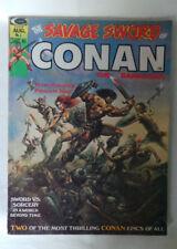 The SAVAGE SWORD OF CONAN August 1974 Marvel comic book MAGAZINE # 1