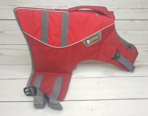 Ruffwear M Float Coat Dog Life Jacket Preserver Reflective Safety Vest K-9 Gear
