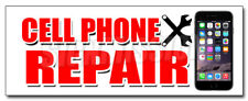 CELL PHONE REPAIR DECAL sticker apple lg htc samsung all brands iphone