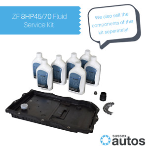 OEM ZF 8HP45 8HP70 Automatic Transmission Gearbox Fluid Service Kit - 7L of oil