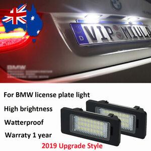 2x Error Free LED Number Plate Light For BMW  X5 X6 E70 E71 E72 2008-2012 SUV AU