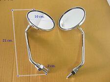 YAMAHA AT2 AT CT 2 3 AT3 CHAPPY LB50 CT3 CT2 CHROME MIRRORS  8mm.