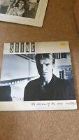 Sting - The Dream Of The Blue Turtles - Vinyl Record LP Album - 1985