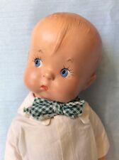 Adorable Vintage 1930's Composition & Cloth Effanbee Skippy Doll Patsy Boyfriend