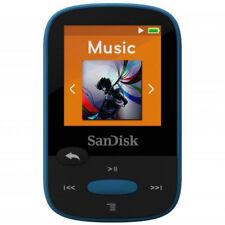 SanDisk 8 Go Clip Sport Lecteur MP3 Pour Musique Bleu Nouveau SDMX24-008G-G46B