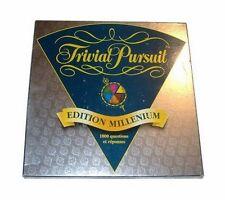 Jeu de société Trivial Pursuit Edition Millenium - 1998 - Parker - Boîte usée