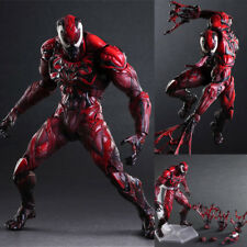 """10"""" Marvel Venom Limited Color Ver. Figure Play Arts Kai Carnage Toy Gift in Box"""