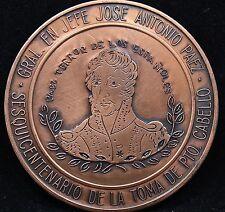 VENEZUELA JOSE ANTONIO PAEZ SESQUICENTENARIO DE LA TOMA DE PTO CABELLO.