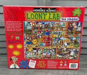 Horrible Science Loony Lab The Jigsaw 300 Pieces 2007 Factory Sealed