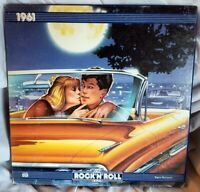 1961 The Rock N Roll Era Time Life LP New Open Box