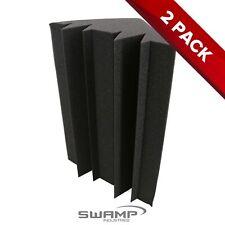 2x SWAMP Studio Acoustic Foam Corner Bass Trap Piece