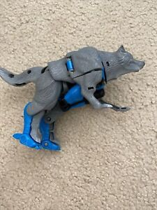 Kenner Hasbro Takara Beast Wars Transformers Wolf Used Incomplete