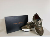 """ Alexander Smith"" Sneakers Donna  Sconto - 75 % Art. D 22221 Col.Verde militare"