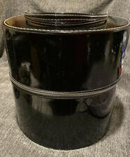 Vintage Travins HatBox/Wig Case. I950's. Super Clean specialty Luggage.