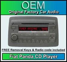 Fiat Panda CD player, Fiat Panda car stereo with radio code & removal keys